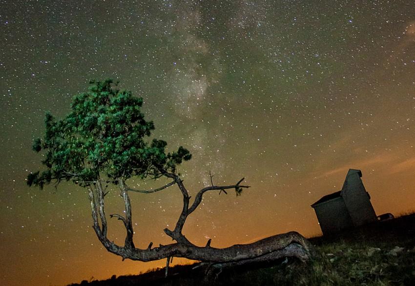 Las estrellas, cada vez más lejos.